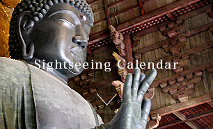 Sightseeing Calendar